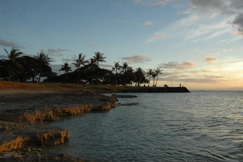 Hawaii - Ala Moana Beach Sunset-33.JPG