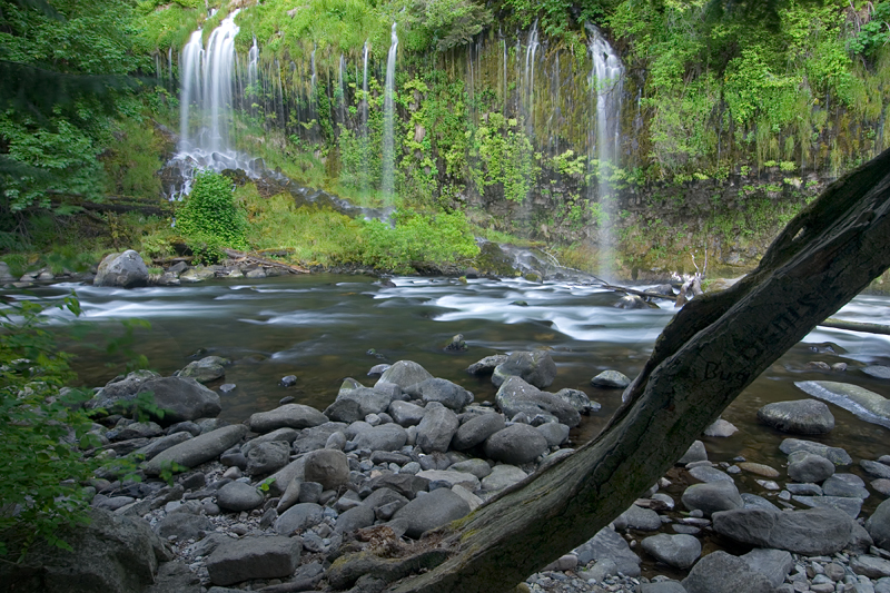 Mossbrae Falls, Dunsmuir, CA