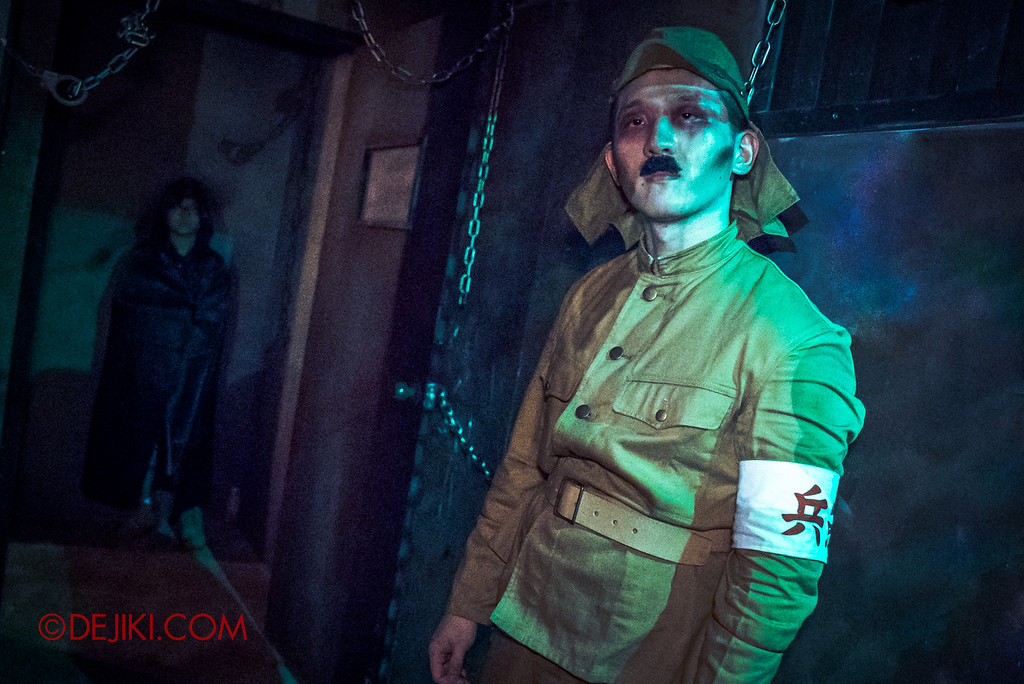 Halloween Horror Nights 6 - Old Changi Hospital / torture chamber japanese soldier