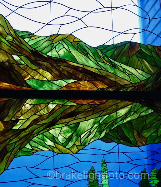 Grey Mountain Stained Glass