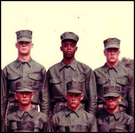 James E Stewart Jr. Boot Camp 1965