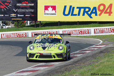 2018 CTMP Porsche GT3 Cup Canada