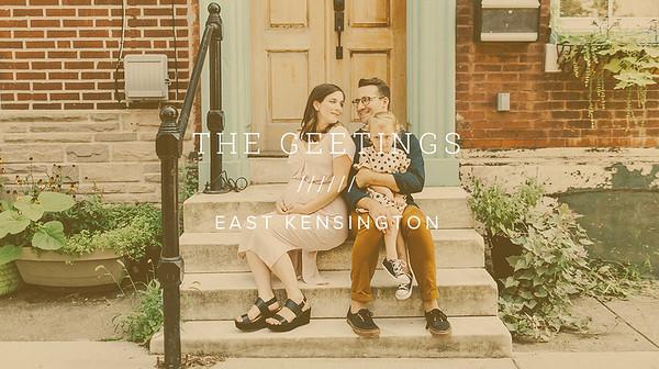 THE GEETINGS ////// EAST KENSINGTON