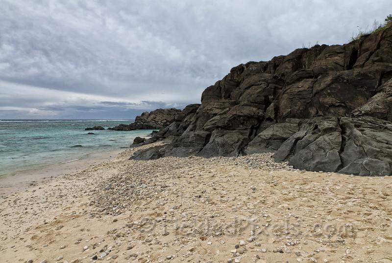 Black Rock on Rarotonga