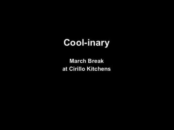 Cool-inary