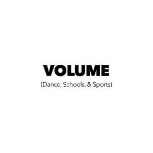 Volume (Dance, Schools & Sports)