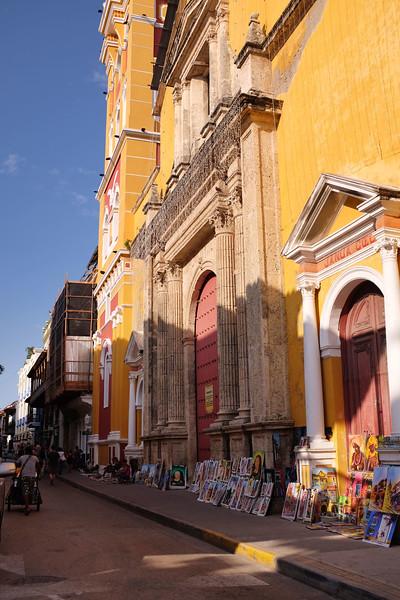 Spanish Colonial architecture predominates.