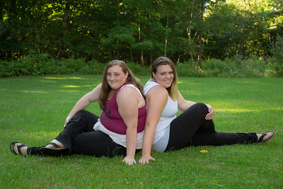 Brandy and Hannah Senior Pics