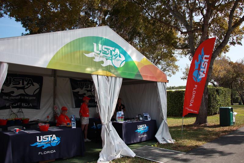 USTA Florida Tent