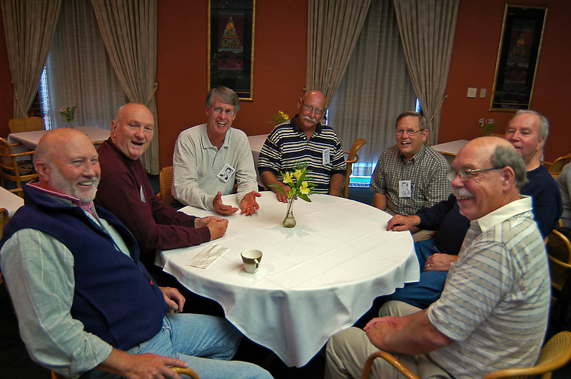 Bruce Lewellyn, Frederick (Fritz) Yates Mendell , Mike Allen, Charles Colburn, ????, Harold Dee Woodward, Larry Phillips