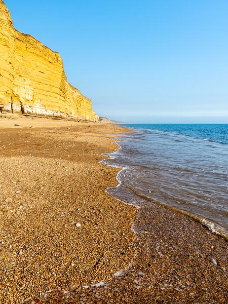 Hive Beach cliffs