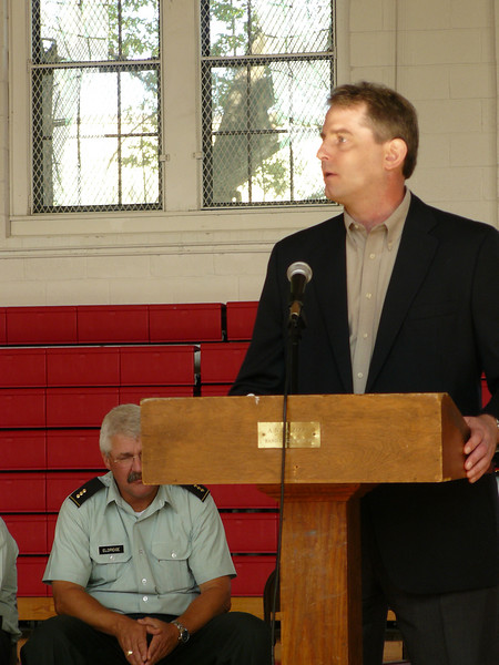 Former Special Forces Operator visits FUMA