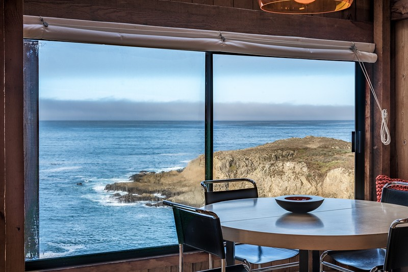 Ocean View from Dining Table