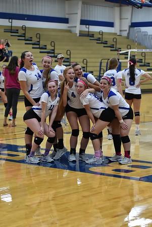 Behel College Volleyball - 2017 vs Mount Vernon Nazarene University