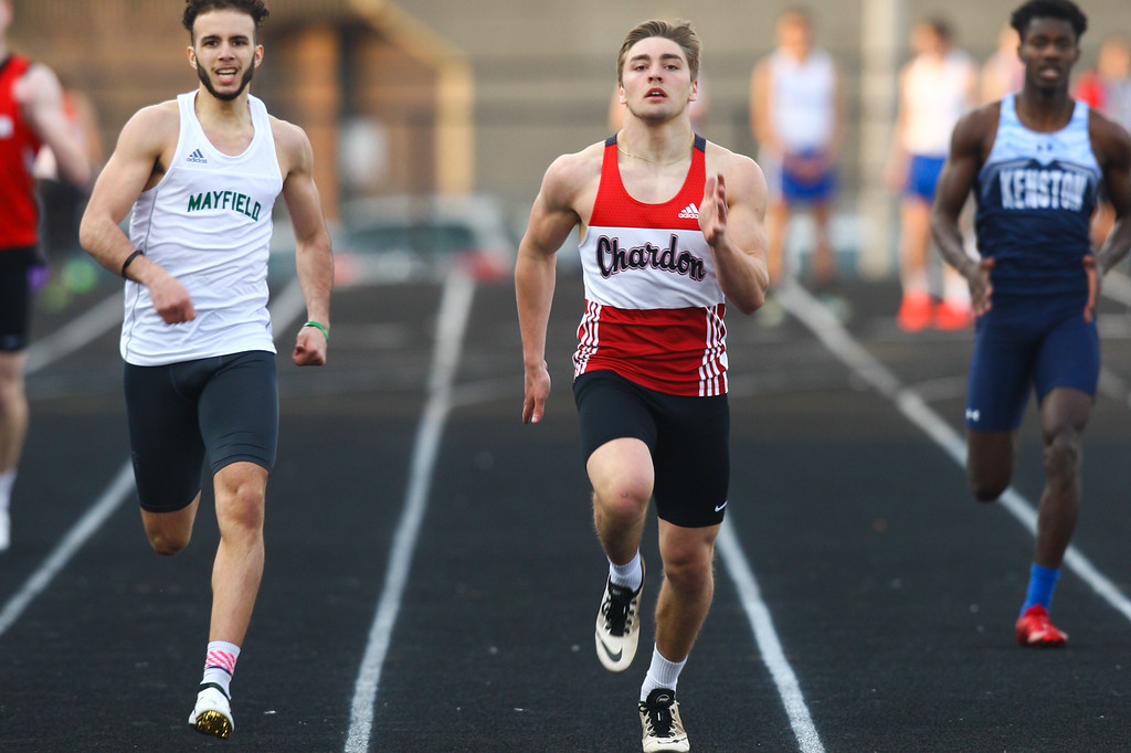 . 2018 - Track and Field - Willoughby South Invitational.  400 Meter Dash.  Jon McKnight won from Chardon in a time of 50.01.