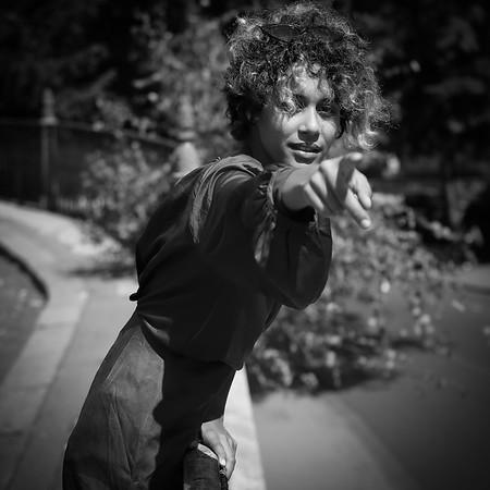 Sertia Saee, Un Jour D' Août 2019, Au Trocadéro / Bir Hakeim