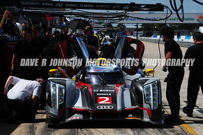 2012-03-12 ALMS-WEC 60th Annual Sebring 12 Hour Testing - Pits