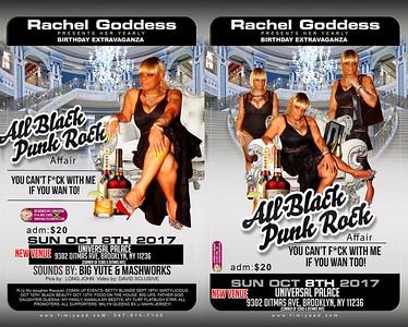 "RACHEL GODDESS ""ALL BLACK PUNK ROCK AFFAIR""(15)"
