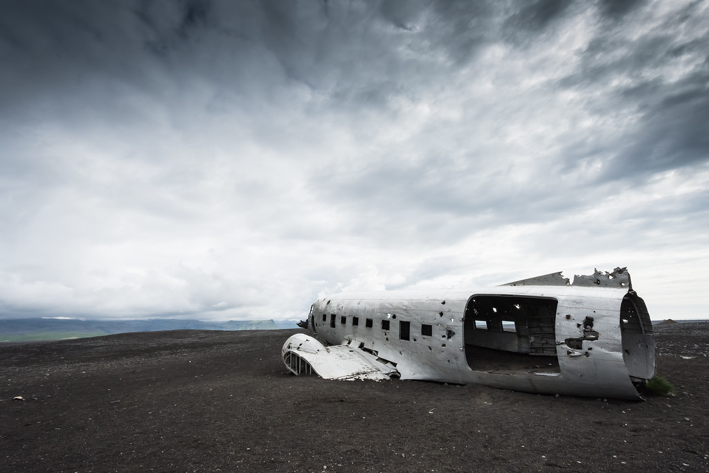 DC3 Plane Wreck in Iceland