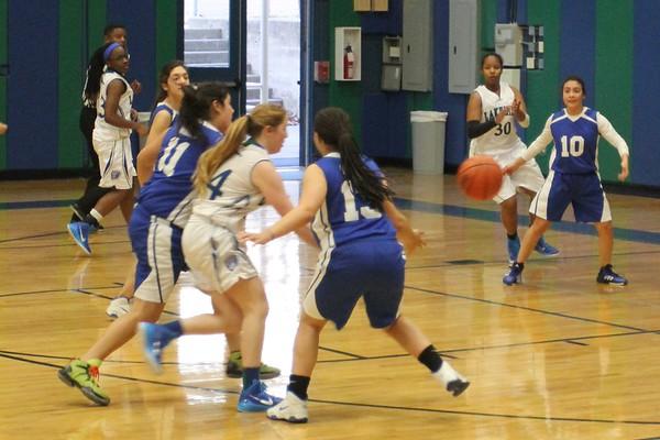 Varsity Girls Basketball vs Tyler Street 1.6.15