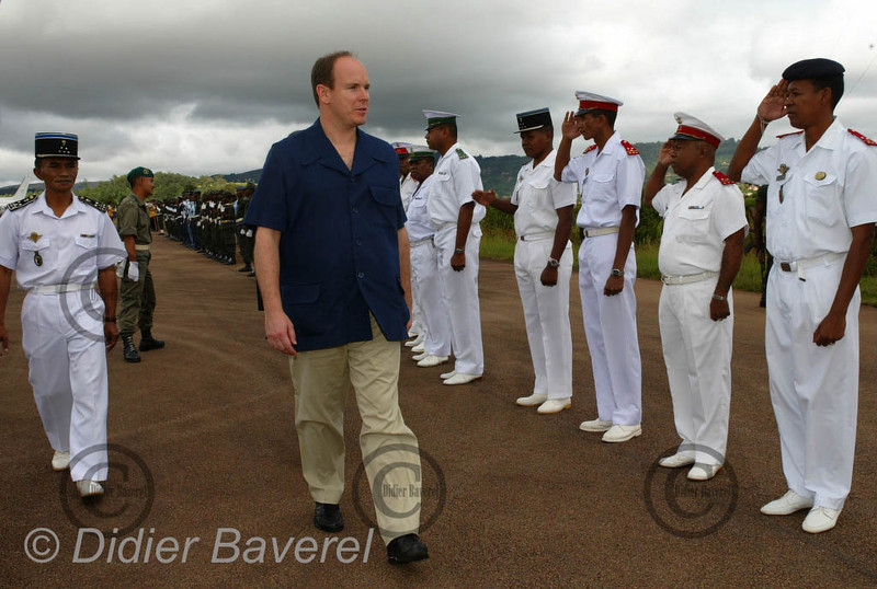 12/03/2003  VOYAGE DU PRINCE ALBERT DE MONACO A MADAGASCAR POUR VISITER LES REALISATIONS DES L'ASSOCIATIONS HUMANITAIRES MONEGASQUES DONT AIDE ET PRESENCE DANS LA REGION DE FIONARANTSOA