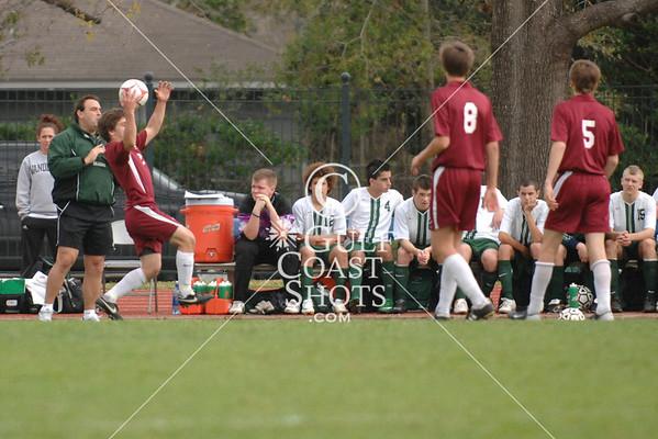 Soccer Boys Div 1 Game 11 Holland Hall v John Cooper