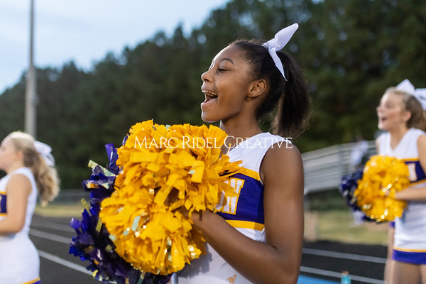 Broughton Varsity football at Southeast Raleigh. October 4, 2019. MRC_1245