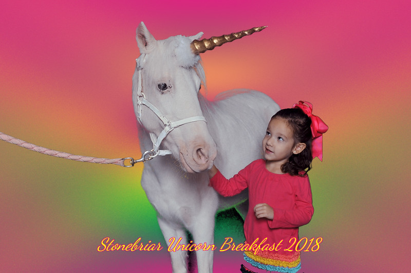Stonebriar Country Club Unicorn Breakfast 2018