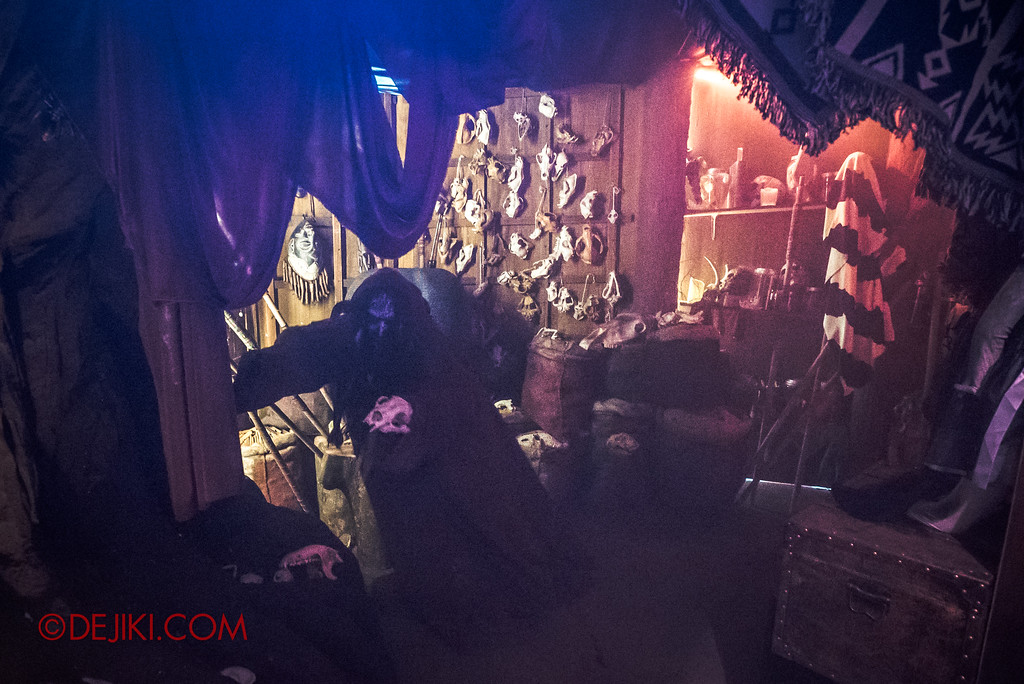 Halloween Horror Nights 7 Behind the Scenes: A Tour Inside HEX haunted house, The Room of Collections