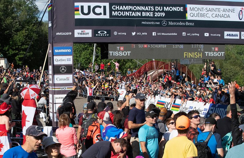 Nino Schurter (Switzerland) World Champion 2019