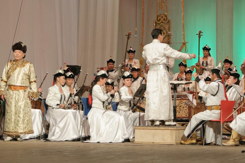 Zum Schluss spielte das Nationalorchester.