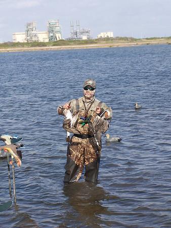 Port Aransas Duck Hunt Nov 2011