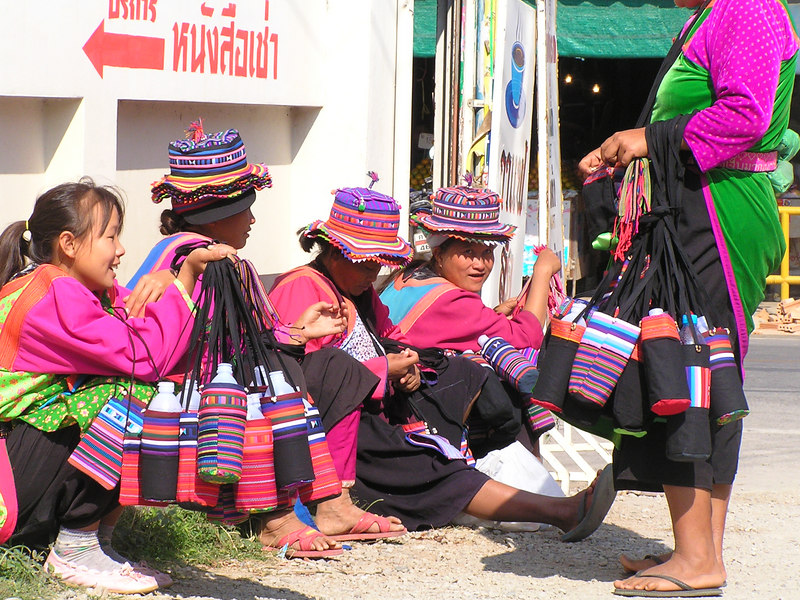 Thai Hill tribe ladies