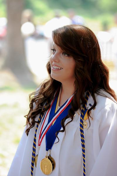 Chelsea Willette DCA Graduation