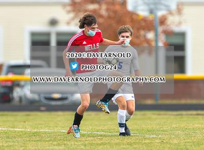 11/11/2020 - Boys Varsity Soccer - Kennebunk vs Wells