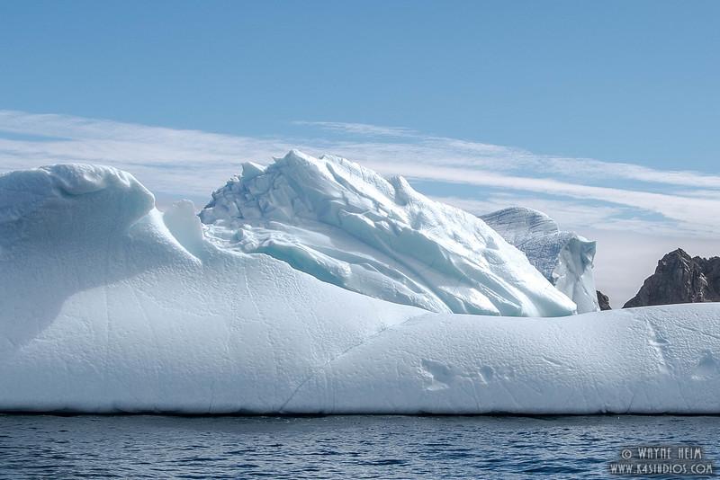 Iceberg 1 Close   Photography by Wayne Heim