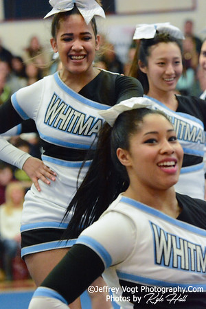 1-24-2015 Walt Whitman HS at Panther Cheer Competition, Photos by Jeffrey Vogt Photography with Kyle Hall