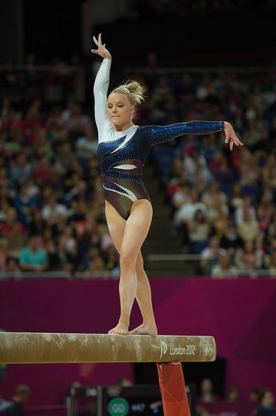 Annika Urvikko at London olympics 2012__29.07.2012_London Olympics_Photographer: Christian Valtanen_London_Olympics_Annika Urvikko at London olympics 2012_29.07.2012__ND49834_Annika Urvikko, finnish athlete, gymnastics