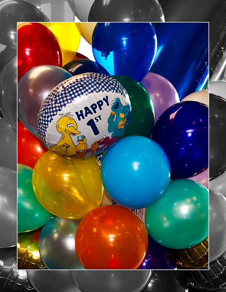 Luca's 1st Birthday