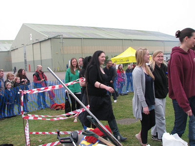 Fire walk for Cats Protection 26.03.11
