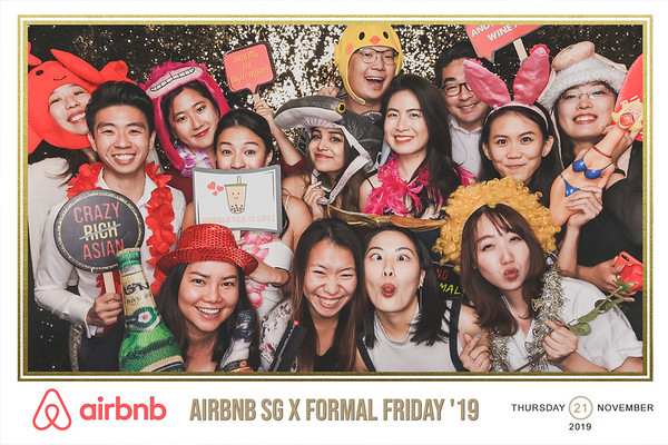 Airbnb SG X Formal Friday '19