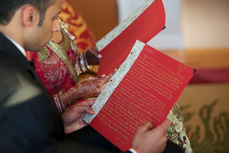 Le Cape Weddings - Indian Wedding - Day 4 - Megan and Karthik Exchanging Gifts 3.jpg