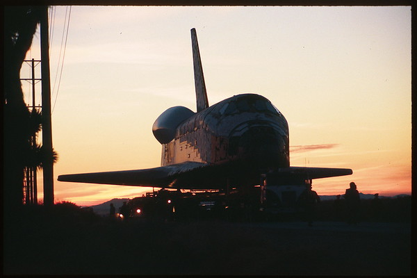 Columbia OV 102 Palmdale to Dryden 03-12-1979