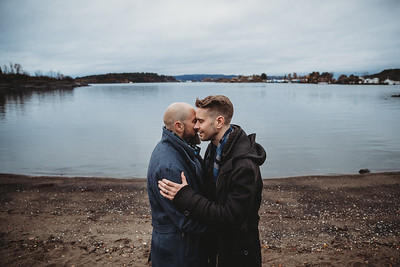 Leif & Oyvind-Love session in Oslo