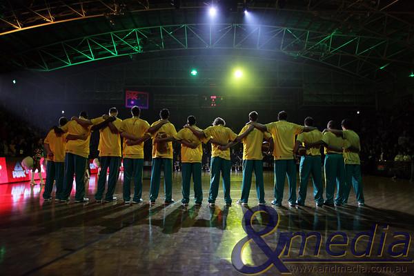 FIBA Mens: Australia vs Argentina
