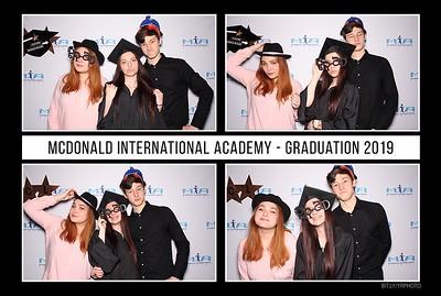McDonald International Academy Graduation 2019