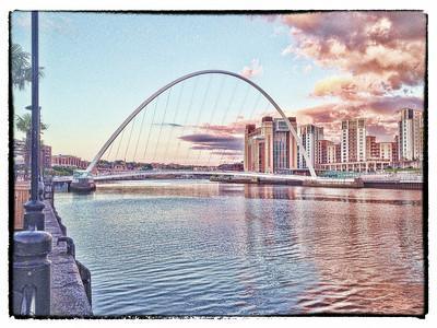019 - Newcastle Quayside & Castle Keep, Newcastle On Tyne, UK - 2014