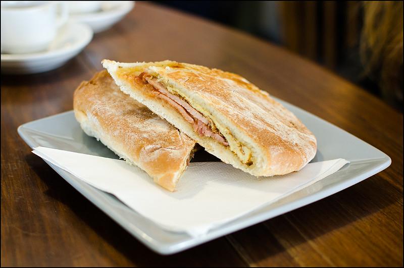 Breakfast Panini - $8