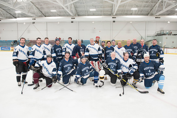 Alumni Ice Hockey Game, Feb 2018