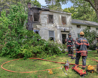 Residential Structure Fire - Skidmore Rd. - La Grange Fire District - 8/27/2019